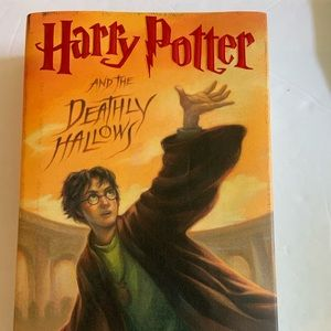 Harry Potter Deathly Hallows 1st Edition 1st Print